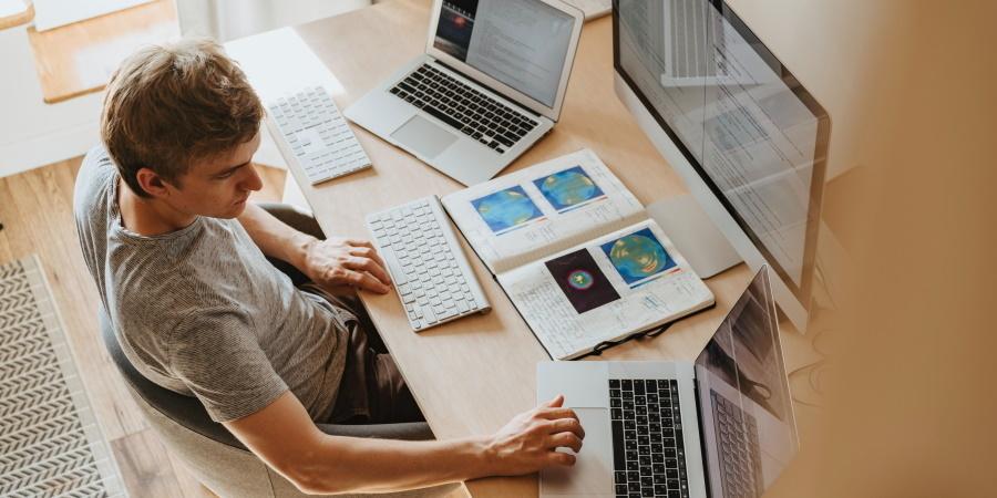 Feedback e desenvolvimento de pessoas em home office